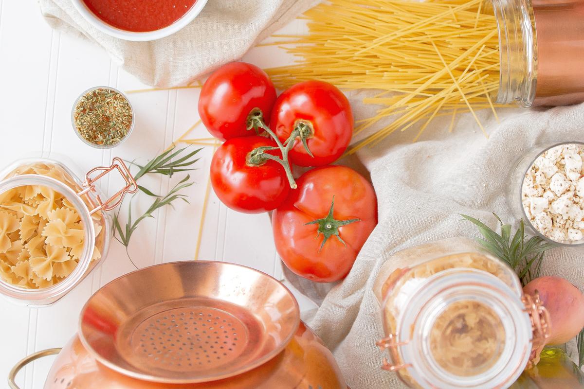 ingredienti e attrezzi per attività alimentari